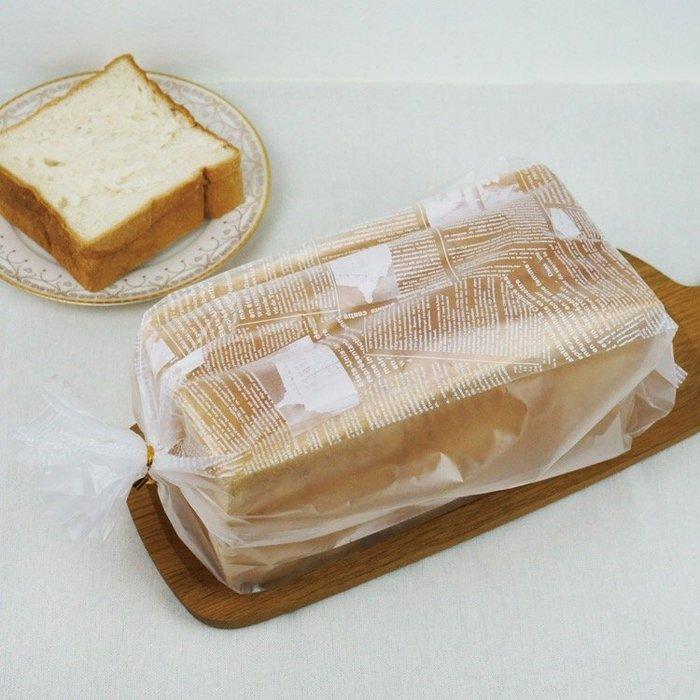 Amy烘焙網:800 到1000克霧面吐司包裝袋 24兩吐司包裝袋 100入