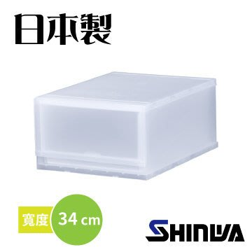 【TRENY直營】日本製造 單層 抽屜組合櫃 (34cm) FR3401 收納櫃 衣櫃 櫥櫃 抽屜櫃 斗櫃 無印良品風