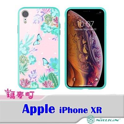 ☆瑪麥町☆ NILLKIN Apple iPhone XR 玉蝶玻璃手機殼