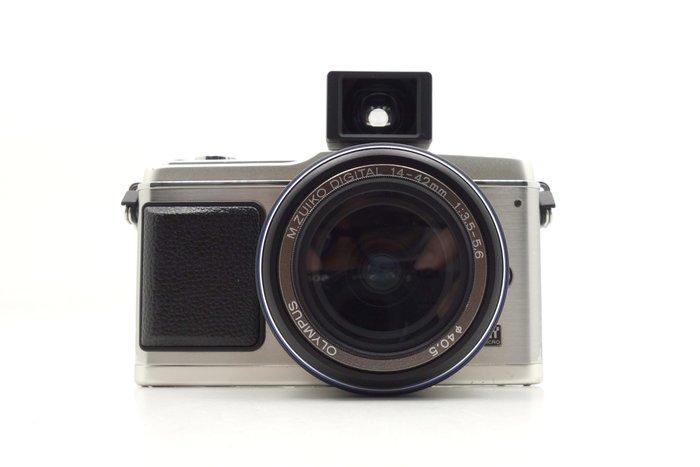 【台中青蘋果】Olympus E-P1 + 14-42mm 單鏡組 二手 單眼相機 #30967