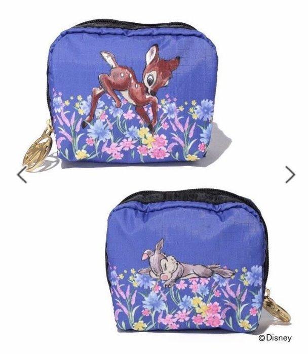 現貨 LeSportsac x Bambi 小鹿花園化妝包收納包 6701 降落傘防水材質 特價商品