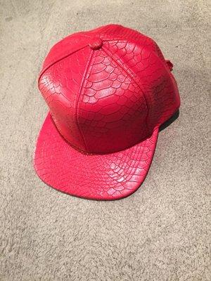 Godly New York 鱷魚皮壓紋皮帽 壓舌帽