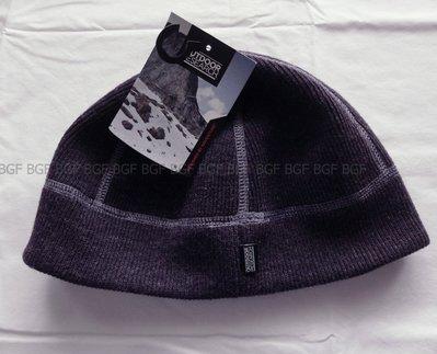 (寶金坊) 美國OR Outdoor Research Flurry Beanie透氣快乾防風護耳保暖帽子 深紫S/M