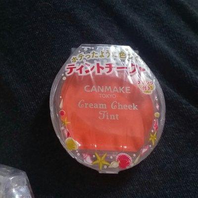 Canmake貝殼腮紅霜Cream cheek tint