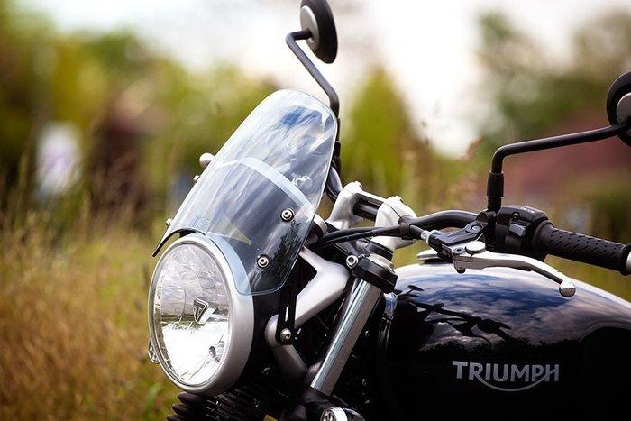 Triumph Street Twin - DART CLASSIC 風鏡 (咖啡 頭罩 GIVI PUIG)