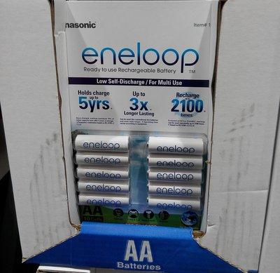 costco代購 #137494/$137510 ENELOOP 國際牌 3/4 號充電電池 10入