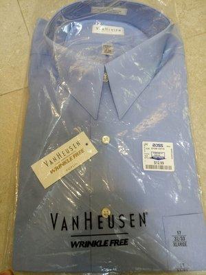 便宜賣 賠錢賣 全新美國百貨公司購入Van Heusen男長袖防皺襯衫出售, 非Calvin Klein,  Polo,  Nautica