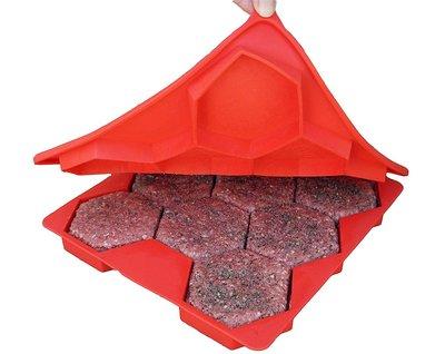 〔 桔梗家居 〕奇摩首賣? 美國熱銷 Burger Master 食品級矽膠漢堡肉模型 醬料 嬰兒食品 適用 加拿大製造
