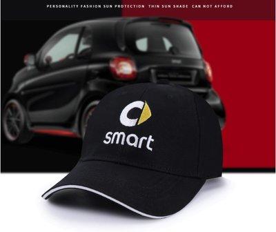 SMART改裝個性裝扮休閒帽子鴨舌帽 戶外運動遮陽帽 男女遮陽帽太陽帽防曬帽跑步帽棒球帽