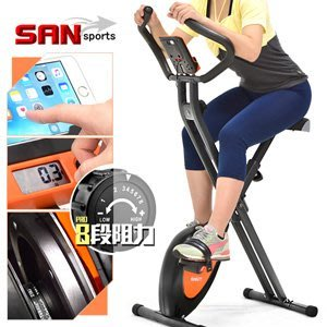 全新一代磁控健身車超大座椅室內折疊腳踏車自行車飛輪式摺疊美腿機哪裡買專賣店ptt運動健身器材C149-040【推薦+】
