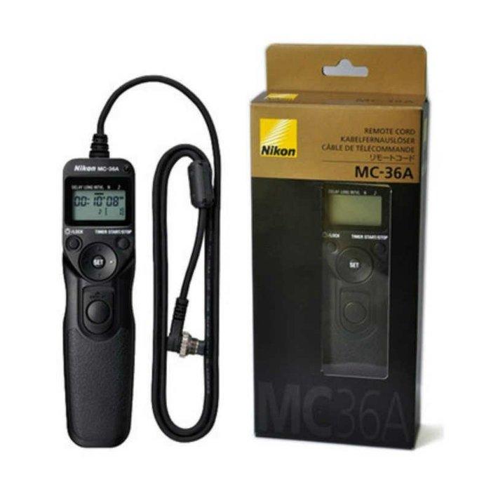 尼康Nikon MC-36A原廠定時快門線D1 D3 D4 D5 D300 D700 D850 D800 F90快門線