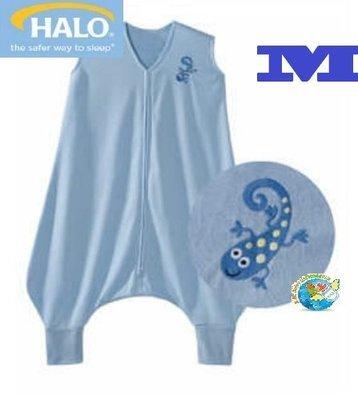 X.H. Baby【美國 HALO】SleepSack Early Walker 防踢被 背心 睡袋 春夏針織 藍色蜥蜴