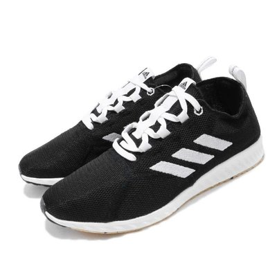 SugarStore - Adidas EPM Run 白色 黑色 針織 舒適 輕量 運動休閒 BD7089