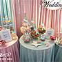 【AIR-SWEET】CANDY BAR主題婚禮布幕&彌月派對道具包套租借(開幕優惠5000元)