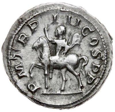 【閒雲雅士】古羅馬銀幣 (#2) — Gordian III (1780年歷史古銀幣) 保真