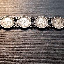 wesstly8888 1934~36年英國喬治五世銀幣手鏈