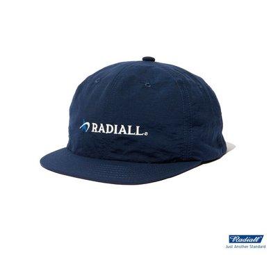 GOODFORIT / 日本Radiall LOGOTYPE BASEBALL CAP短帽簷防潑水尼龍棒球帽款/兩色