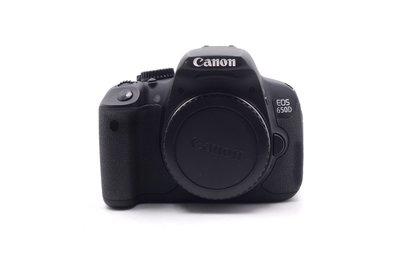 【台中青蘋果】Canon EOS 650D 單機身 二手 單眼相機 快門次數約6,405 #61155