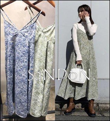 山東: MOUSSY 客人許願款 春季有口袋碎花經典吊帶洋裝 SLY 210320