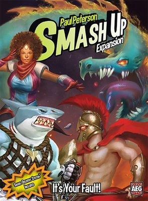 大安殿實體店面 Smash Up It's Your Fault 擴充 正版益智桌上遊戲