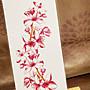 【萌古屋】紅色花朵TL-282 - 男女防水紋身貼紙刺青貼紙K19