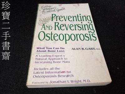 【珍寶二手書齋Fm21】Preventing and Reversing Osteoporosis:0761500227