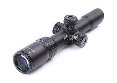 台南 武星級 1-4X28 狙擊鏡 ( LED綠點紅外線外紅點內紅點快瞄定標器瞄準鏡望遠鏡雷射紅雷射綠雷射瞄具
