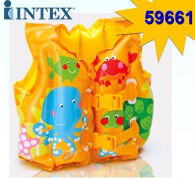 美國  INTEX 59661 兒童玩水 游泳 必備 兒童游泳學習衣3至6歲