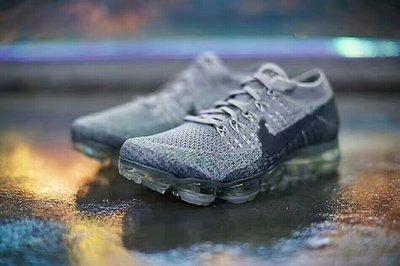 "Nike Air VaporMax Flyknit 氣墊慢跑鞋""浴缸水藍灰""849558-008  尺碼:36-45"