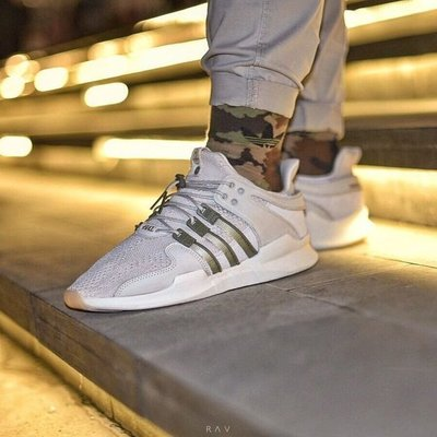 Highs And Lows X Adidas EQT 米白 卡其 沙漠 駝色 男鞋 CM7873