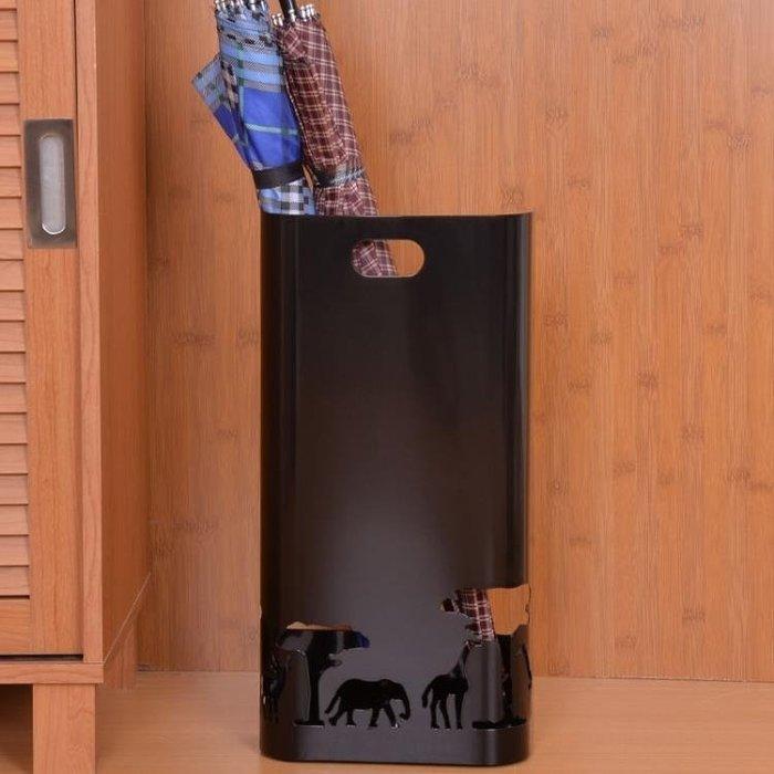 家用雨傘架子酒店大堂放雨傘的桶鐵藝框簡約門廳收納桶ATF芊芊思語 (可開立發票)