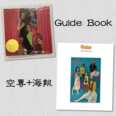 [現貨]Red Velvet 韓版 空專+海報 Guide Book【The ReVe Festival Day 1】