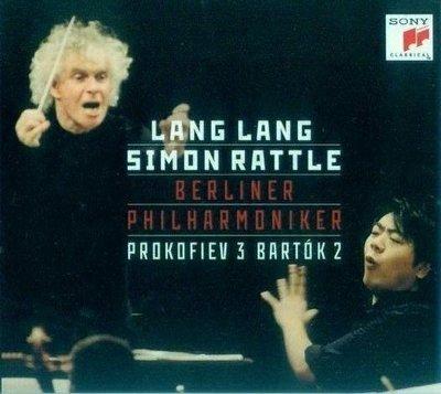 音樂居士*Lang Lang Simon Rattle Prokofiev & Bartók Piano Concertos*CD專輯