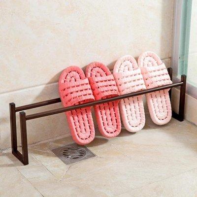 簡易拖鞋鞋架浴室置物架宿舍鐵藝架子客廳家用鞋子收納架Y-優思思