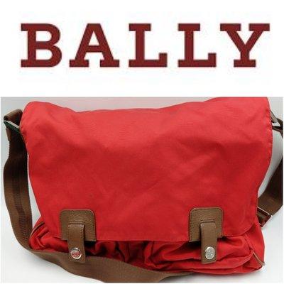 【皮老闆】二手真品 BALLY 肩背包 斜背包 瑞士製 (K2)