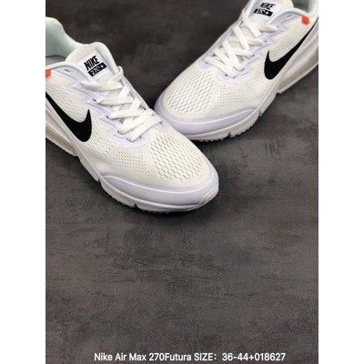 正品 Nike Air Max 270Futura 耐克 網面 後置半掌 氣墊鞋 男女鞋 運動休閑鞋 情侶款