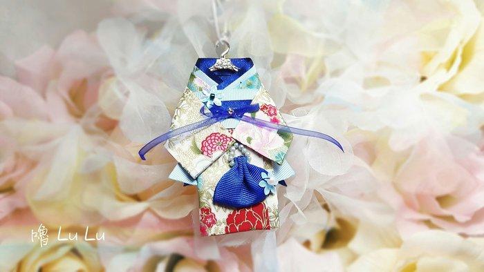 和服 吊飾 婚紗 禮服 婚禮小物 飾品 文創設計手作 獨一無二 免運編號180721005