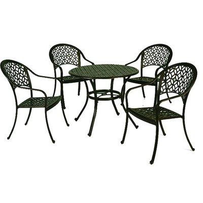 【紅豆戶外休閒傢俱】中國風鋁合金桌椅組 一桌四椅 庭園桌椅 咖啡廳桌椅 餐廳桌椅 中庭桌椅 民宿桌椅 農場桌椅 鋁合金桌