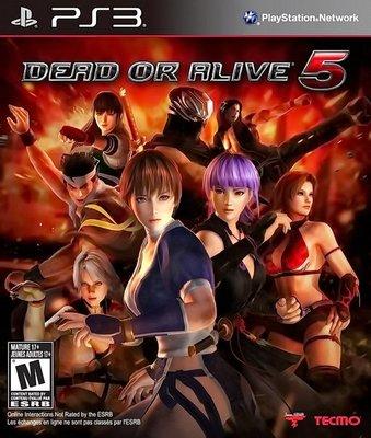 【二手遊戲】PS3 生死格鬥5 DEAD OR ALIVE 5 中文版【台中恐龍電玩】