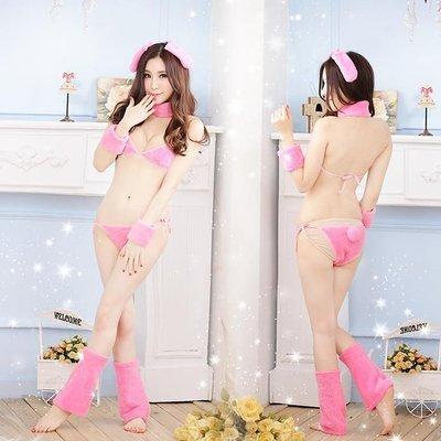 Hot Sexy Uniformes Bunny Girl Lingerie Bikini set costume