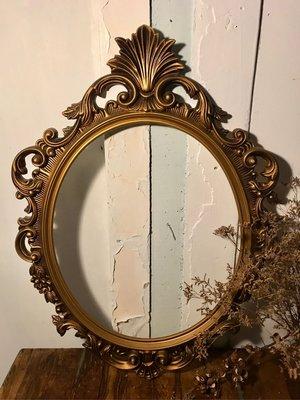 古典巴洛克式雕花圓框