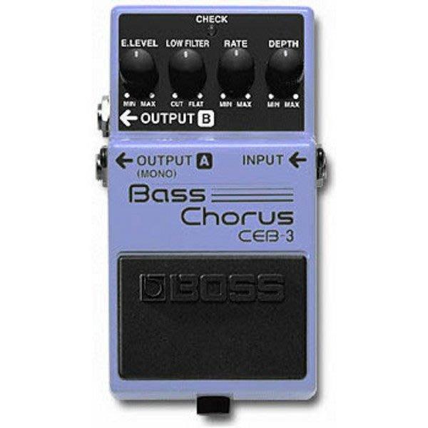 【六絃樂器】全新 Boss CEB-3 Chorus BASS 貝斯和聲效果器 / 現貨特價
