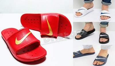 【Dr.Shoes】 Nike Kawa Shower防水拖鞋 運動拖鞋 白832528-100黑001紅602藍400
