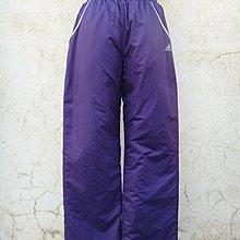 jacob00765100 ~ 正品 adidas 紫色 鋪棉 防風運動休閒長褲 Size: 164