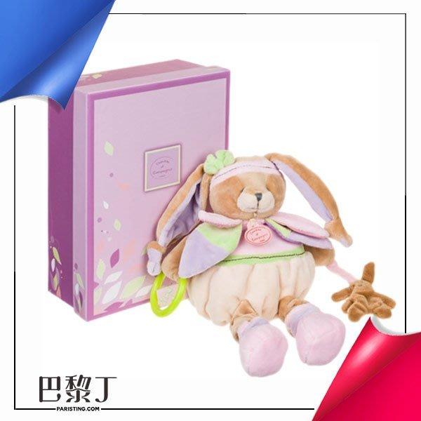 Doudou et Compagnie 粉色韻律小兔愛體操(拉環、響紙、搖鈴)【巴黎丁】