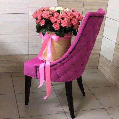 【美麗傢私店】創意新款美式實木餐椅家用布藝皮藝軟包電腦書椅復古單人扶手圍椅(賣場價格隨便定的 需跟客服確定好價格后購買 則不出貨)