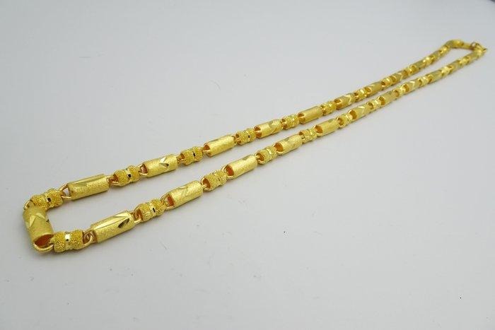 $玉承珠寶$ 男用三兩二尺長黃金鍊30.1T (預購時間為1~5個工作天)