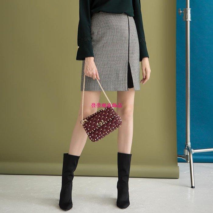 發發潮流飾品西納維思時尚中裙女半身裙S74621B