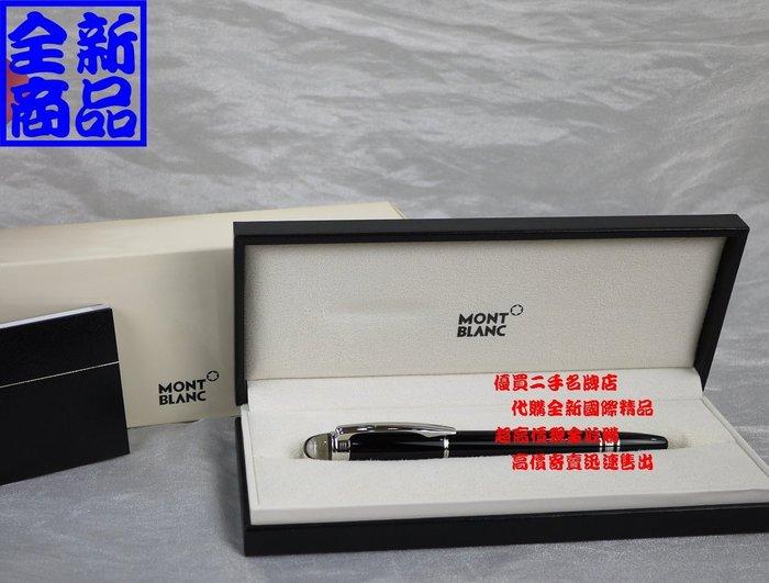 ☆優買二手精品名牌☆ 萬寶龍 Mont Blanc 8485 star walker 漂浮 簽約 發財 筆 簽字筆 全新