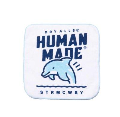 【日貨代購CITY】2019AW HUMAN MADE x REO HANDKERCHIEF TOWEL 鯨魚 手帕 口